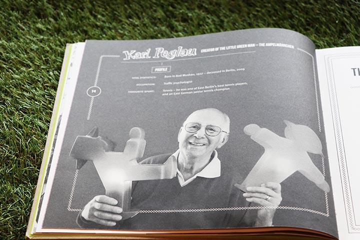 مبتكر رجل الإشارة عالم النفس المتخصص بالمرور كارل بيغلاو