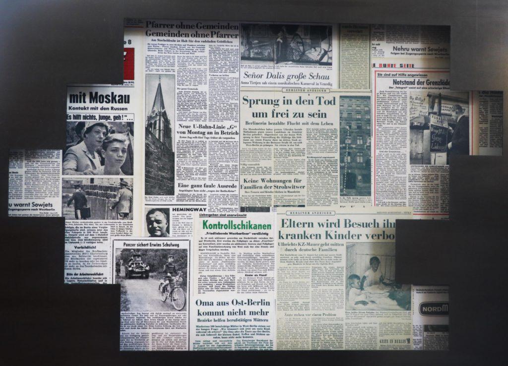 بعض الصحف من زمن تلك المرحلة